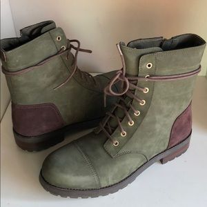 🥰New Ugg Kilmer Slate leather suede Moro Boots 11